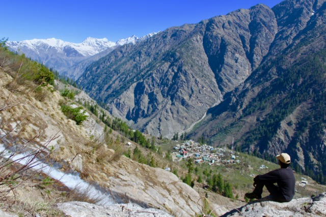 Chansu - a beautiful village off any traveler map in Sangla valley